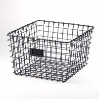 Kitchen Vegetable Storage Wire Basket With Tow Handles ...