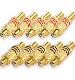 get quotations httx rca phono female connectors audio video rca plug jack socket solder type  [ 1200 x 1200 Pixel ]
