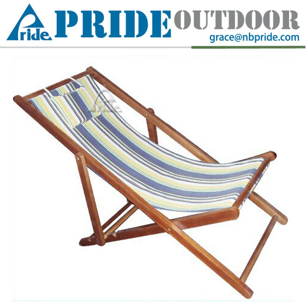 Retro Folding Beach Chair