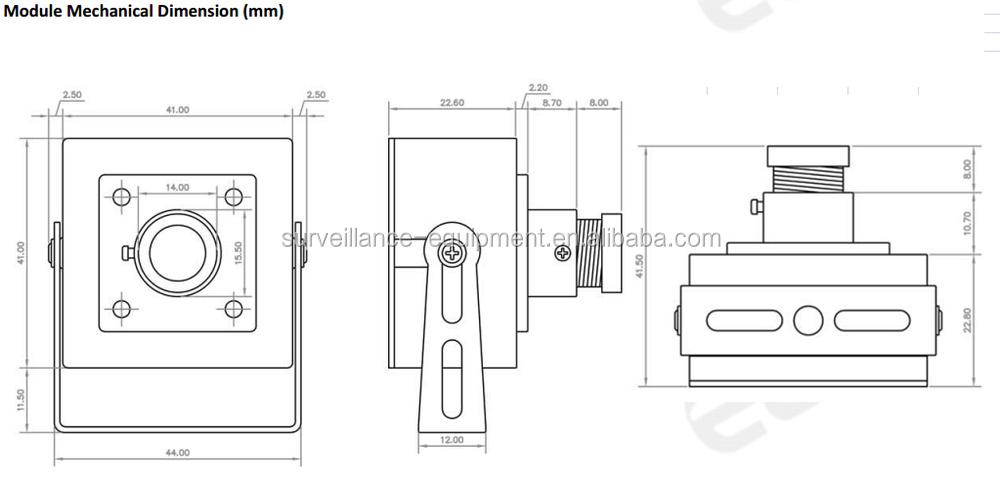 Elp 2mp Cmos Ar0330 Mini Box Full Hd 1080p H.264 Usb