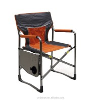 Aluminium Folding Director Chair With Side Table Attached ...
