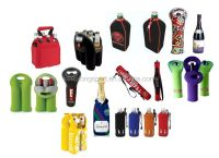 Neoprene Water Bottle Holder With Shoulder Strap