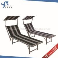 Aluminium Sun Bed Italian Beach Chair