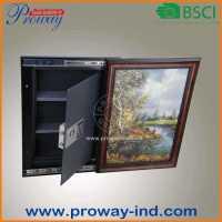 RoHS approval painting frame hidden wall safe, View hidden ...
