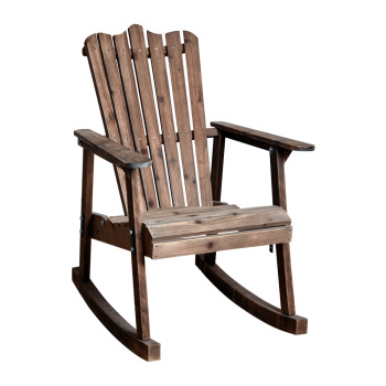 old wood chairs heated stadium with backs pastoral vintage wooden rocking chair buy garden