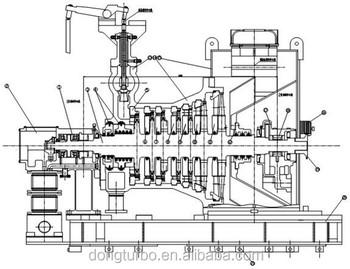 300mw Class Steam Turbine Generator For Coal-fired Power