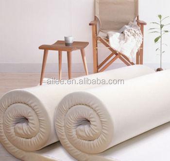 Sleep Well Roll Up Mattress Memory Foam