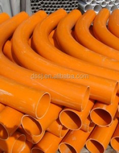 Polyvinyl chloride pvc long bend elbow pipe electrical conduit fitting also bendpvc pipeelectrical rh alibaba