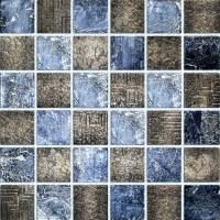 Resin Textured Mosaic Tiles Backsplash Background Wall For ...