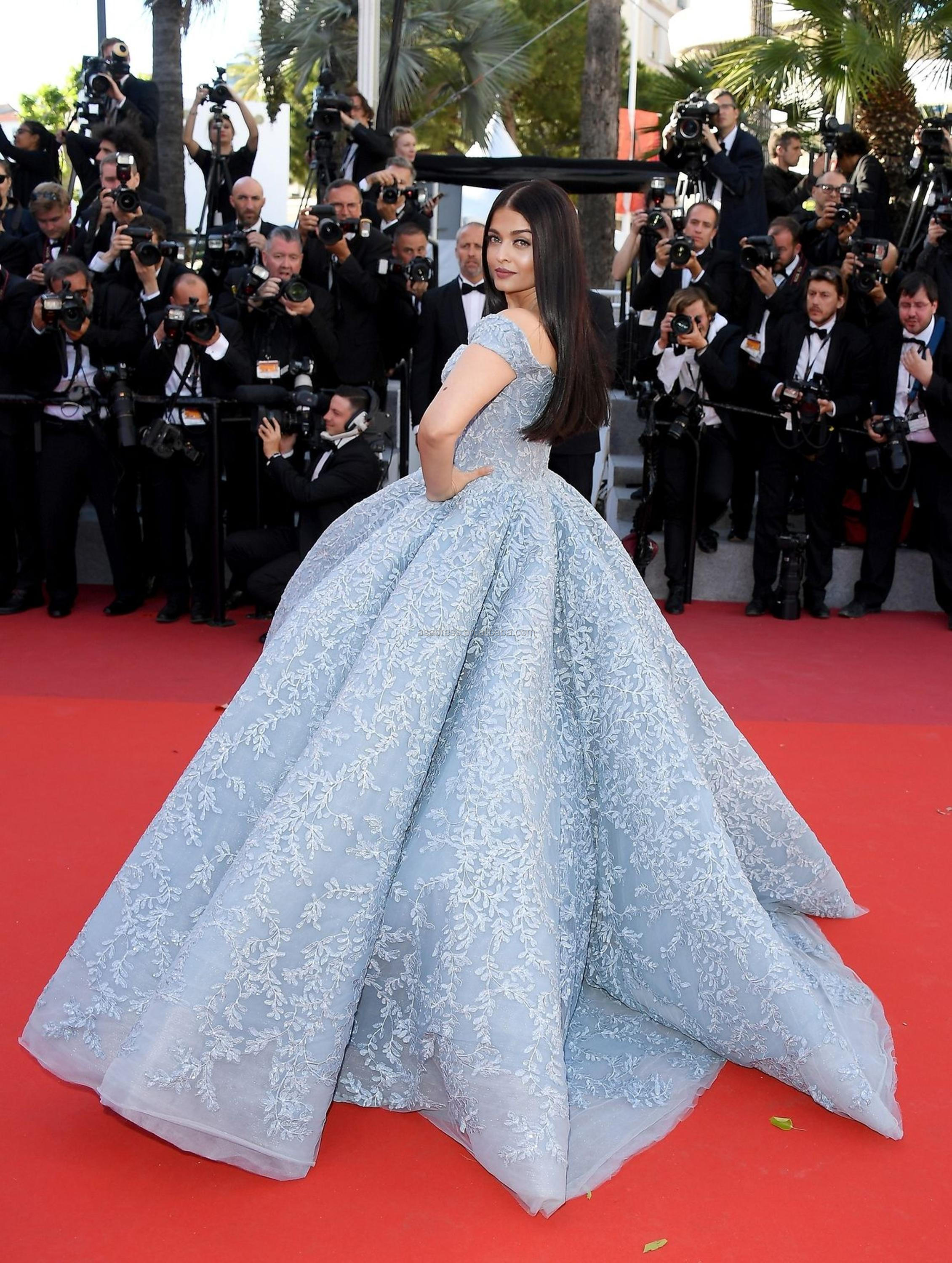 Roter Teppich Cannes Mgc001 Bollywood Superstar Aishwarya Rai Prinzessin Ballkleid Cannes Film Festival Roter Teppich Celebrity Dress Buy Celebrity Dress Roter