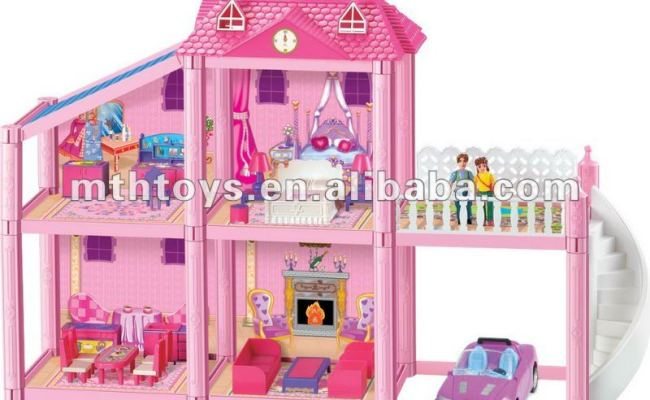 Hot Grand Girl Doll House Games Toy Buy Girl Doll House