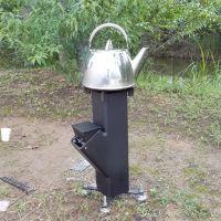 Tent Pellet Stove & CHP Wood Pellet Rocket Stove Furnace