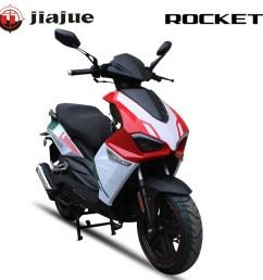 jiajue 2019 new sport design 50cc euro iv gas scooter [ 1000 x 1000 Pixel ]