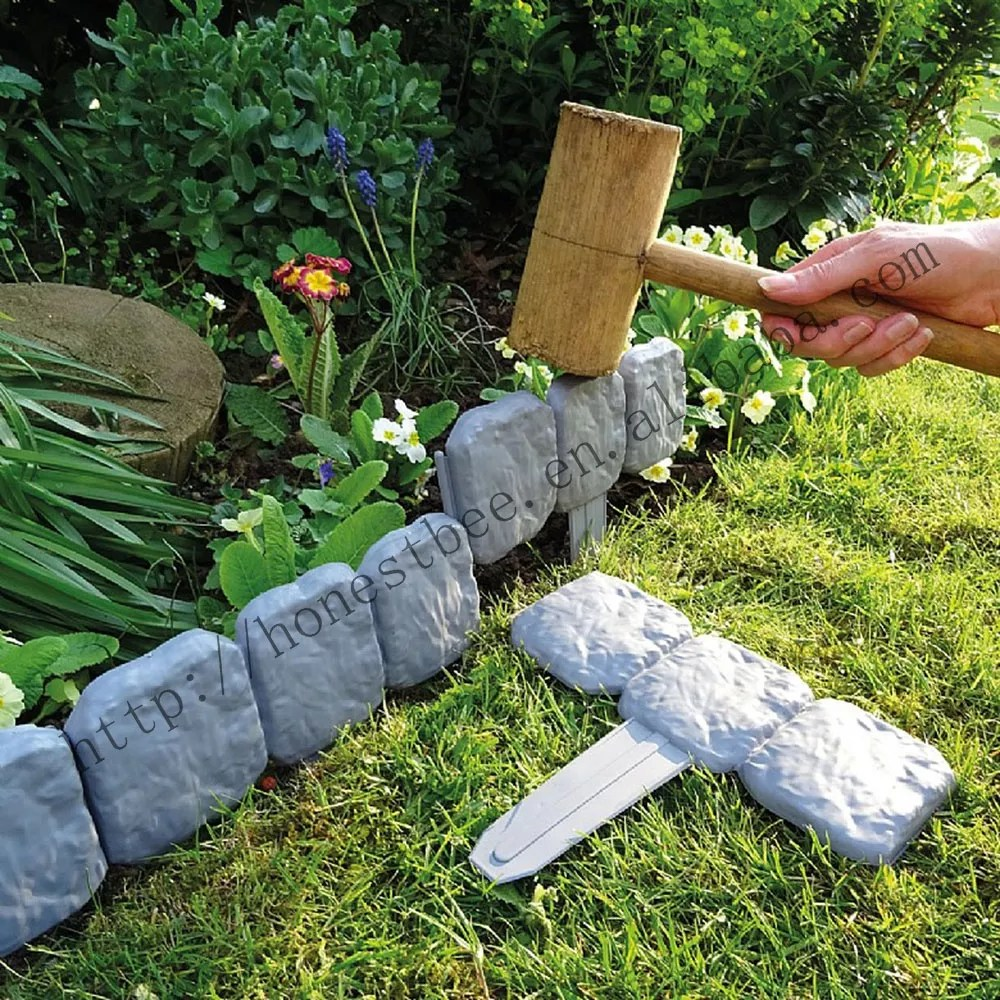 cloture en plastique pour amenagement de pelouse 5 tailles 10 paquets bordure de jardin piquet en plastique buy bordure de jardin bordure de jardin