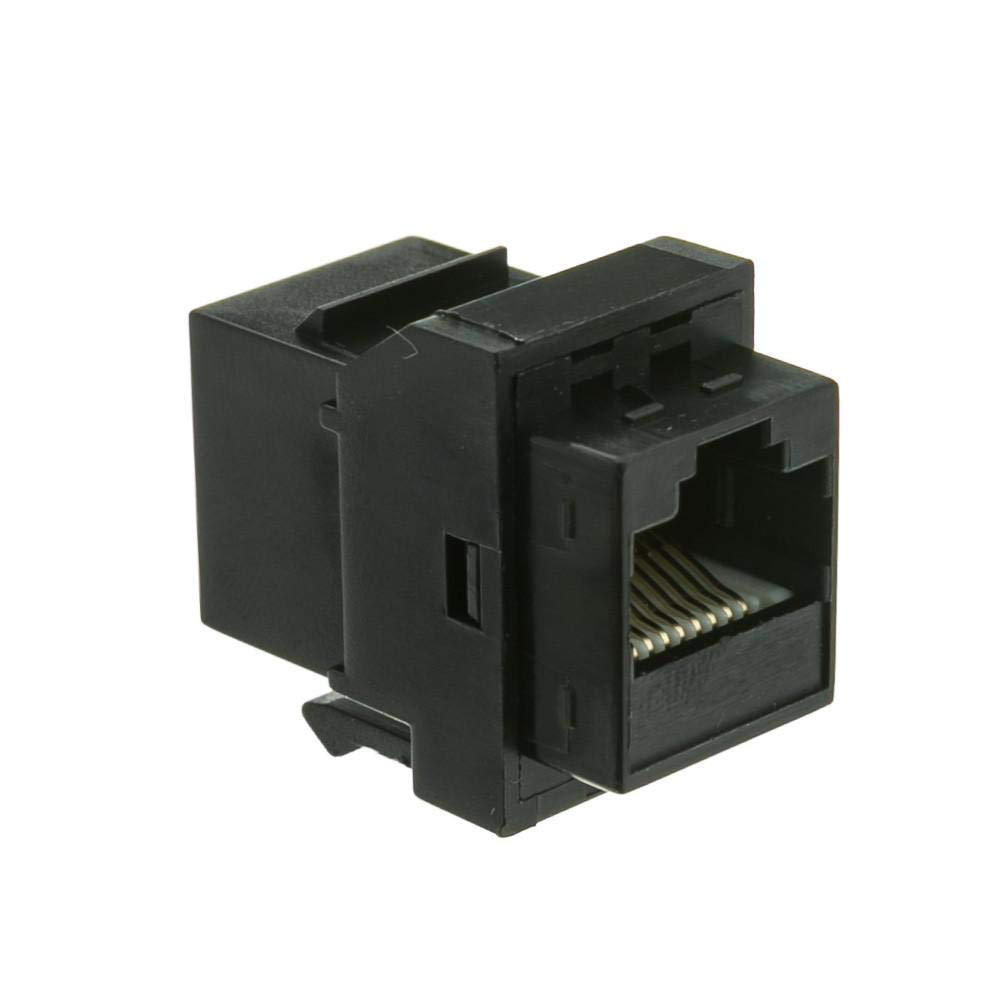 hight resolution of get quotations gowos cat6 keystone inline coupler black rj45 female