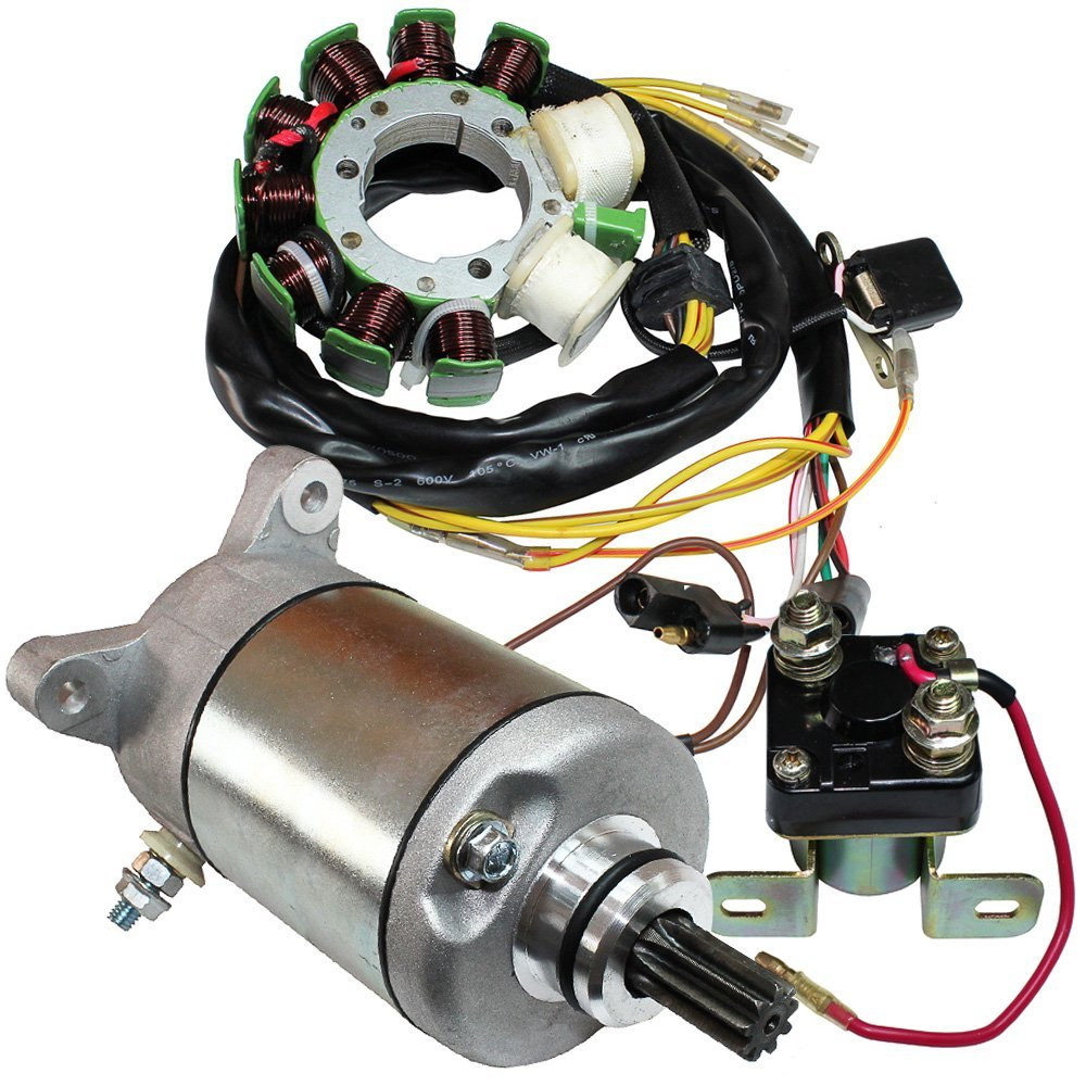 hight resolution of get quotations caltric stator fits polaris sportsman 500 1996 1997 starter solenoid atv new
