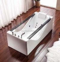 Heier verkauf freistehende glas badewanne mit Jacuzy ...