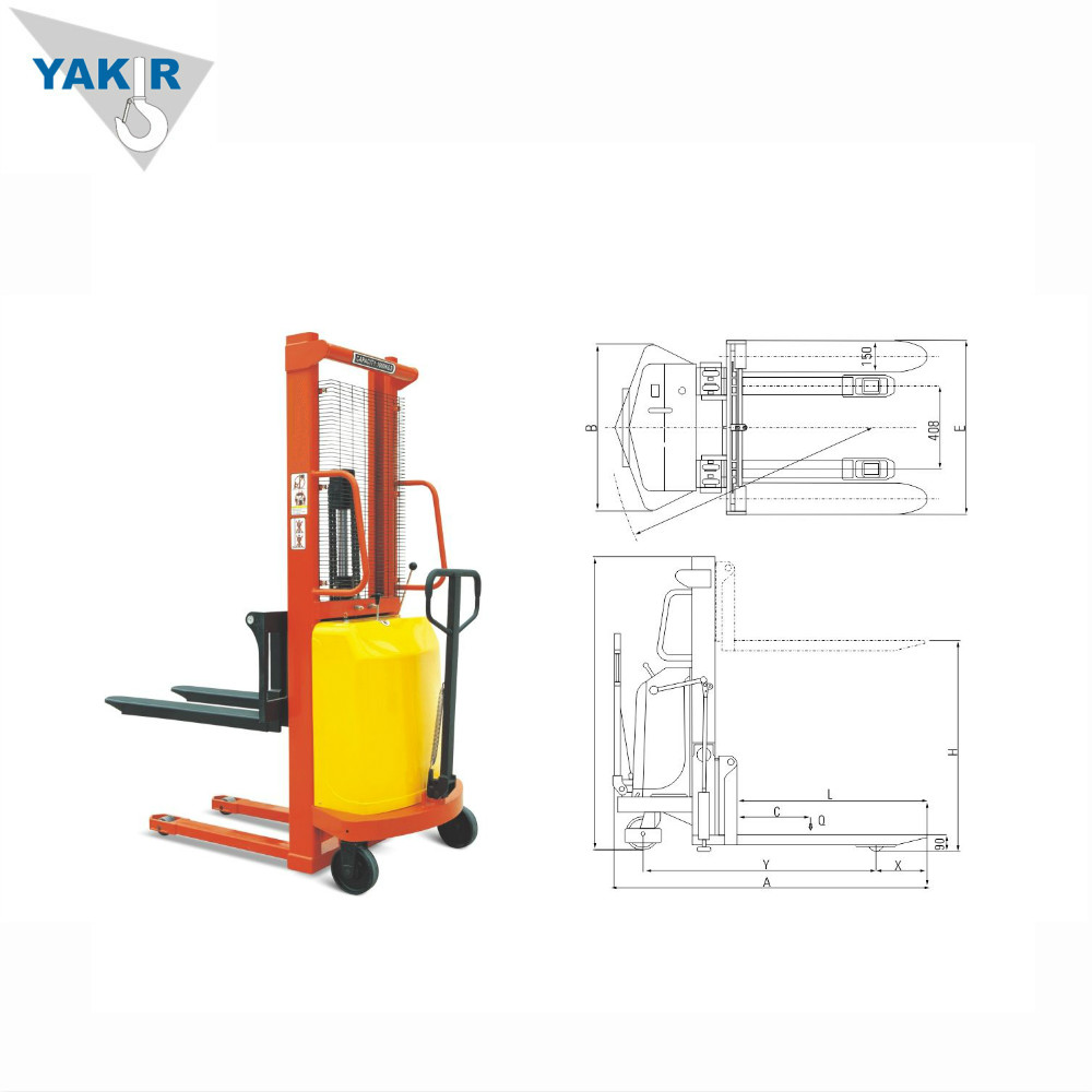 hight resolution of china winch pallet stacker china winch pallet stacker manufacturers and suppliers on alibaba com