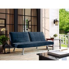 Atherton Home Soho Convertible Futon Sofa Bed And Lounger Macy S Cognac Cheap India Find Deals On Line At Get Quotations Living Room Blue Finished 4 Seating Functions Metal Frame