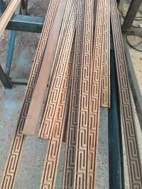 Primed Quarter Round Flooring Pine Molding/flooring Wall ...