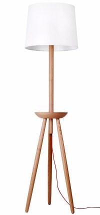 Modern Wood Floor Standing Lamp Tripod Floor Lamp - Buy ...