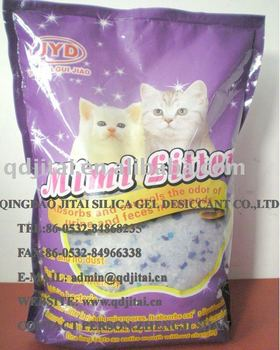 silica crystal cat litter