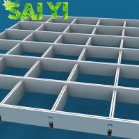 Aluminum Types Of Ceiling Materials Drop Ceiling Grid ...