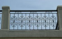 Modern Balcony Railings Decorative Metal Balcony Railings