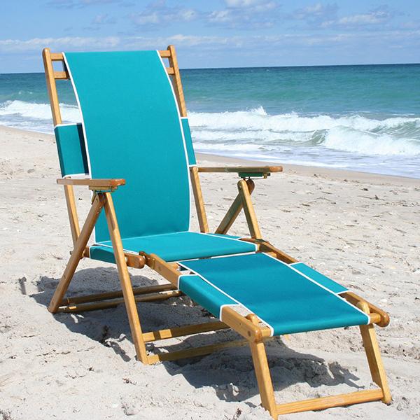 china wooden beach chair