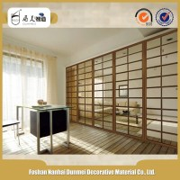 Modern Style Living Room Glass Partition Design - Buy Room ...