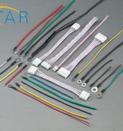 molex 2510 connector flexible flat cable ring terminal wires electricity meter wiring harness [ 2000 x 1621 Pixel ]