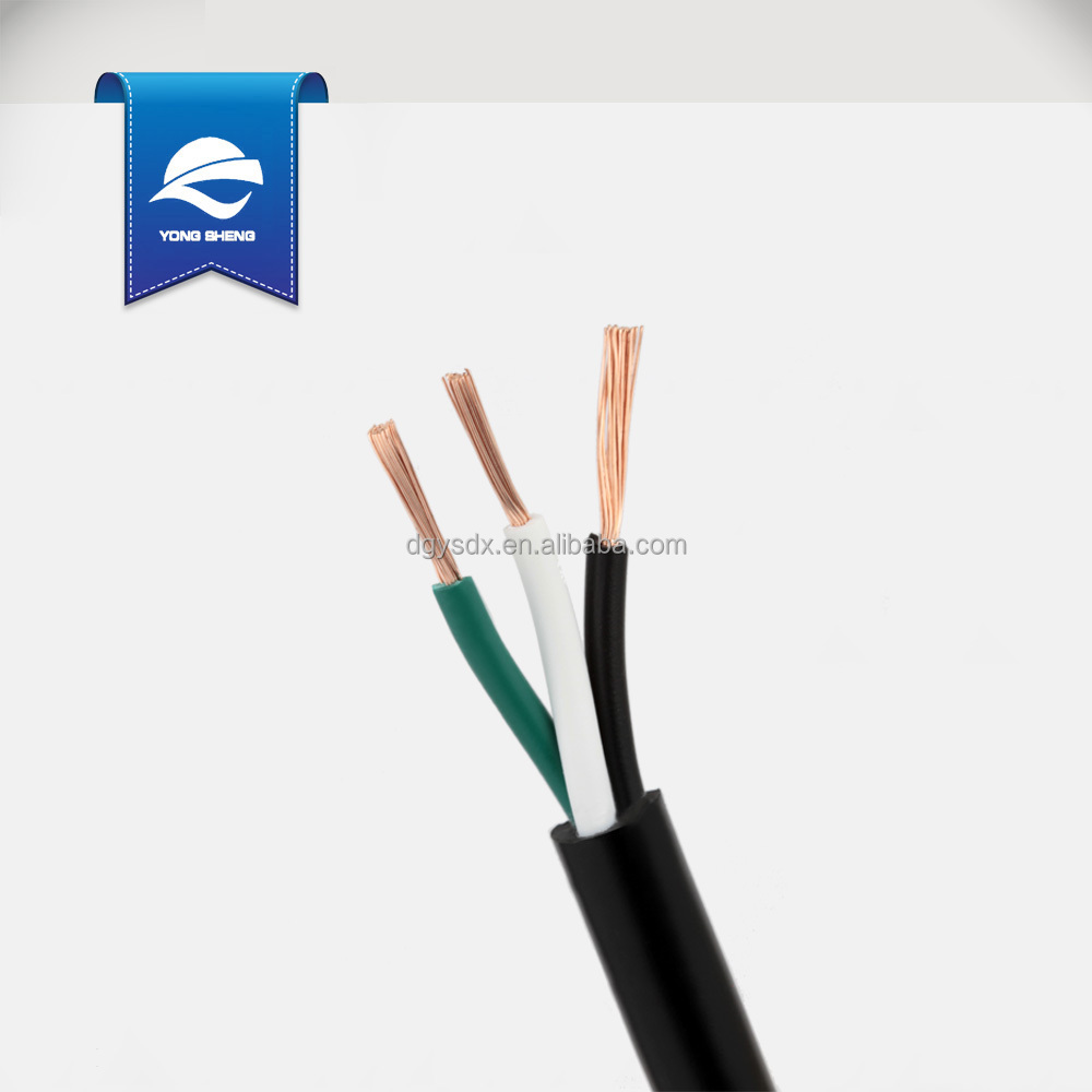 medium resolution of american ul approval sjt power cable 3c 18awg 0 824mm2 view ul sjt cable yongsheng product details from dongguan yongsheng cables technology co