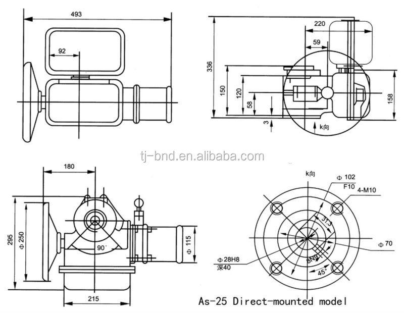 Bernard Actuator Wiring Diagram Bernard As50 Actuator