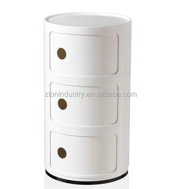 Replica Round Componibili Storage Cabinet