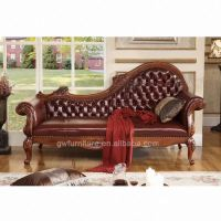 Antique Chaise Lounge Chair