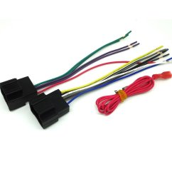 conpus gm car stereo cd player wiring harness wire aftermarket radio install plug 2007 2011 [ 1100 x 1100 Pixel ]