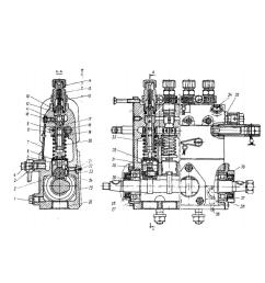 fuel injection pump plunger and barrel assembly for marine diesel engine [ 1000 x 1000 Pixel ]