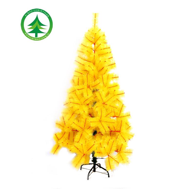 180cm Yellow Artificial Pine Christmas TreeHot Sale