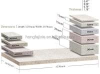 Korean Solid Surface Table Top/best Quality Fake Quartz ...