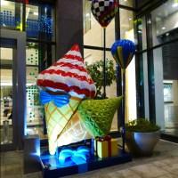 Front Door Decoration Fiberglass Ice Cream For Candy Land ...