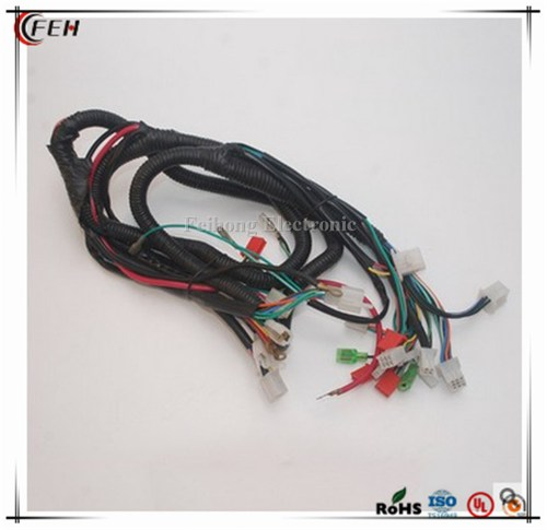 small resolution of customized wiring harness cable for yamaha motorcycle