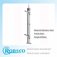 304 Stainless Steel Staircase Column Design Staircase ...