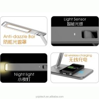 Led Wireless Charging Desk Lamp With Usb Charging Port ...