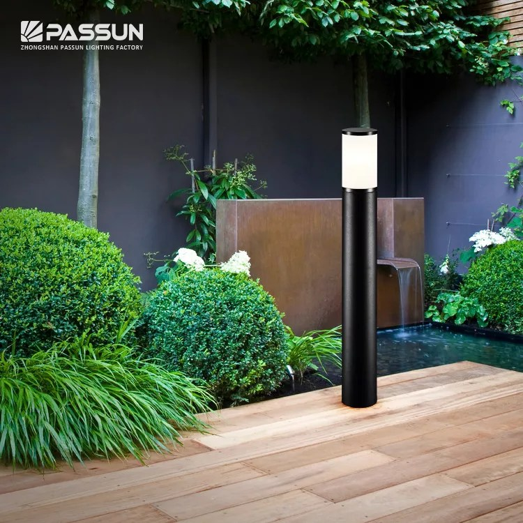 outdoor garden landscape lighting 12v aluminium bollard lights post lamp led bollard light view exterior decorative led bollard light passun product