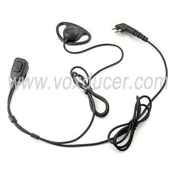 Soft D Shape Earpiece For Motorola Cp88 Cp040 Cp100 Cp110