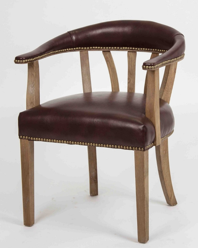 Leather And Wood Chair Antique Boned Oak Wood And Leather Arm Chair Rustic Low Back With Nails Buy Antique Wood Chair Low Back Wood Dining Chair Rustic Solid Wood Arm