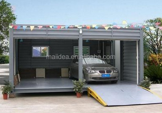 Car GarageChinese Steel Structure Car GarageShipping