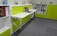 Modern Kids Murphy Bed Design Single Wall Bed With Pull ...