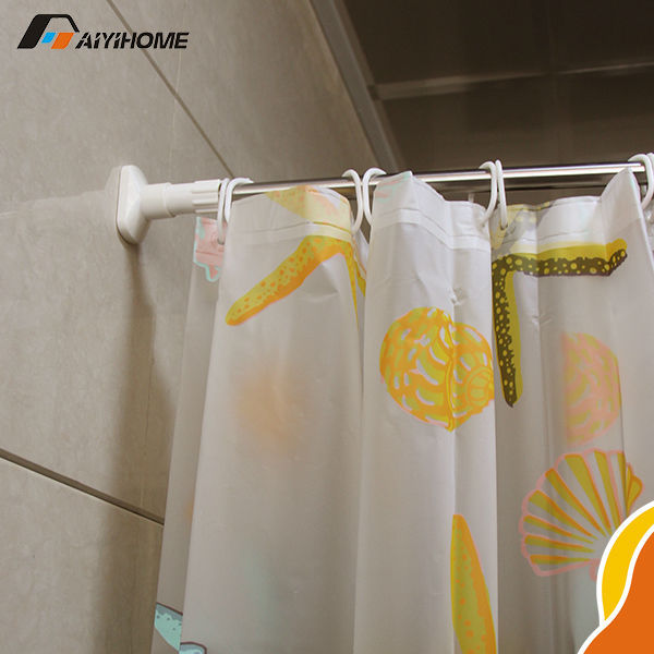 L Shaped Shower Curtain Rods Telescopic Shower Curtain Rod High