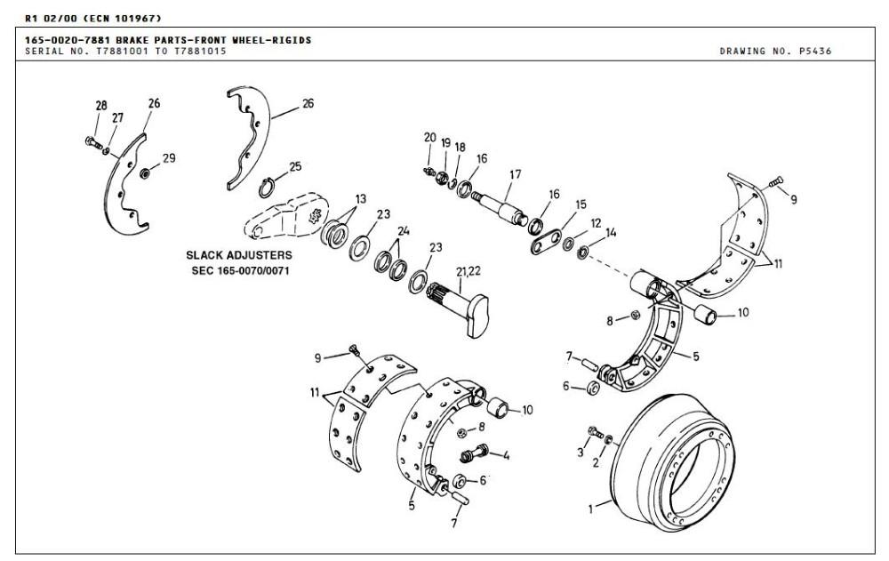 Terex 3305 Tr35 Oem 9010012 Brake Drum For Terex Mining